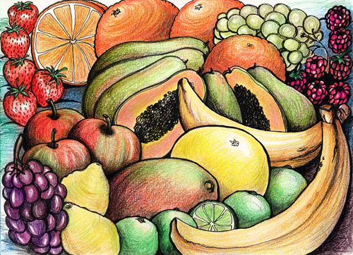 Fruit brief: Phyllis Mahon: Colour